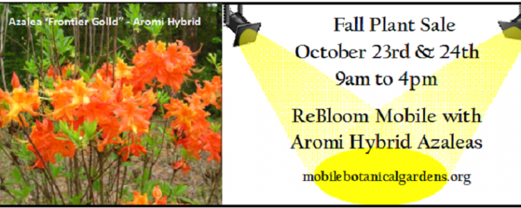 Fall Plant Sale A Two Day Event Mobile Botanical Gardens
