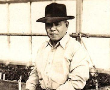 K Sawada in Overlook Greenhouse for Post