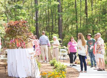 MBG Aromi Garden opening, Copyright Elizabeth Gelineau